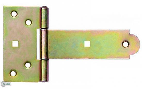 Kreuzgeh/änge T-Scharniere T-B/änder Gerollt 500 mm Schwere Verzinkt