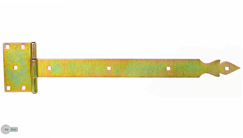 Kreuzgeh/änge T-Scharniere T-B/änder 400 mm Platte 325 mm Schwere Verzinkt