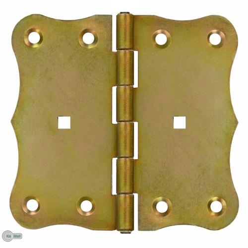 Kreuzgeh/änge T-Scharniere T-B/änder Kistenkreuzband 100 mm Verzinkt